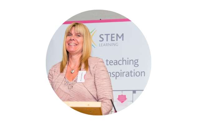 Amanda Watts, winner of the 2018 ENTHUSE Award for Excellence in STEM teaching – Technicians