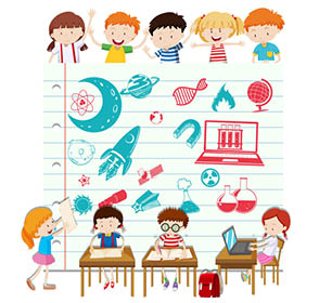 science primary vector children illustration doing curriculum vectors changes less really freepik stem clipart child computer background resources preview