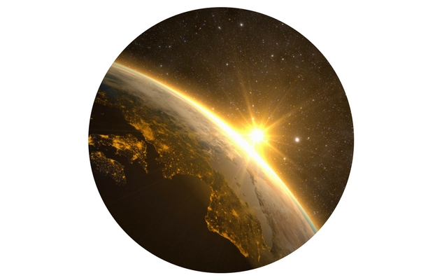 Earth in orbit