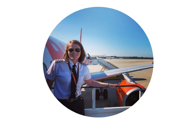 Kate McWilliams, STEM Ambassador at EasyJet