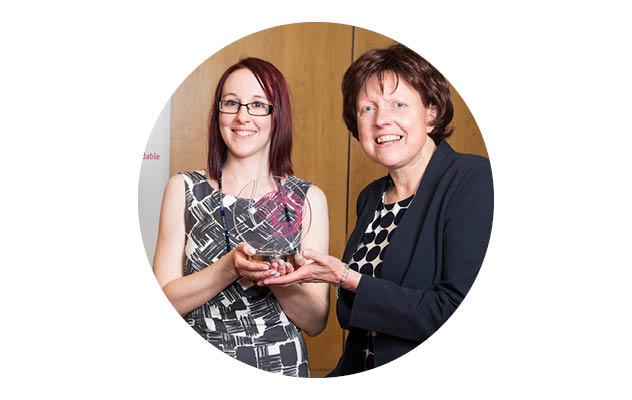 ENTHUSE Celebration Award winner