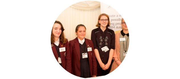 Didcot Girls' School at the 2018 STEM Inspiration Awards
