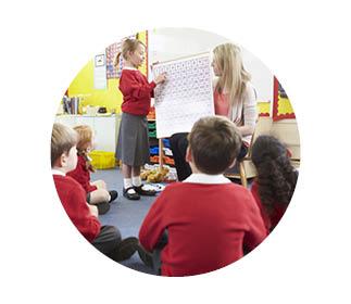 Children learning maths