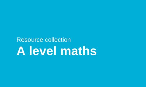 A level maths