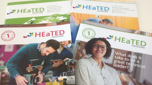 HEaTED magazines