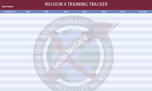 Mission X Training Tracker