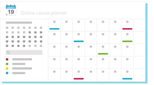 STEM Learning online course calendar