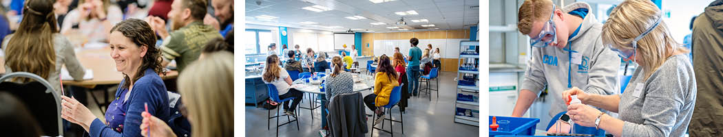 Residential CPD at the National STEM Learning Centre