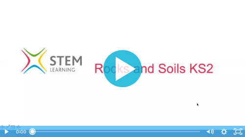 Remote lesson - Rocks and soils - key stage 2