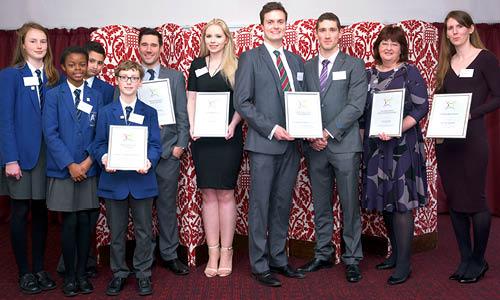 STEM Inspiration Award winners 2016