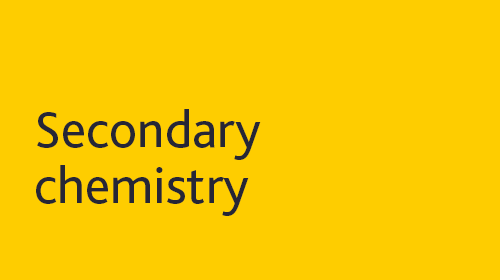 Secondary chemistry resources for home learning