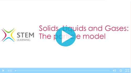 Remote lesson - solids, liquids and gases - the particle model - key stage 3