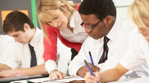 Teaching secondary school students