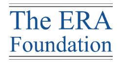 The ERA Foundation logo
