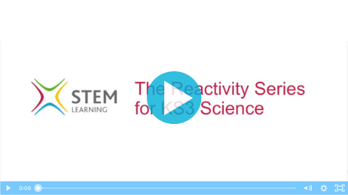 Remote lesson - the reactivity series - key stage 3