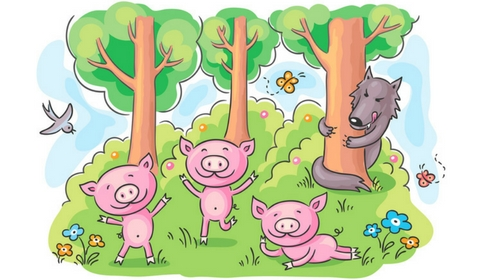 The Three Little Pigs