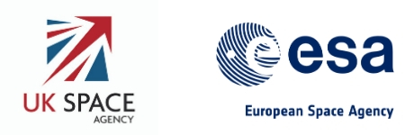 UK Space Agency and European Space Agency logos