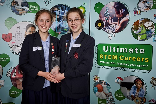 Winners of BP Ultimate STEM Challenge 2019