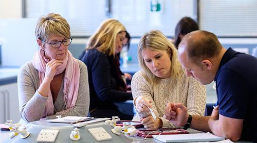 Workshop at STEM Learning