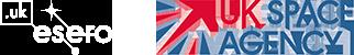 Esero UK and UK Space Agency logos