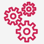 Cogs symbolising valuable networking opportunities