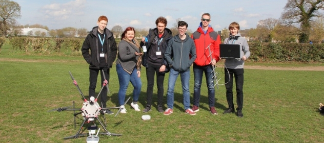 Winners of the UK CanSat competition 2019
