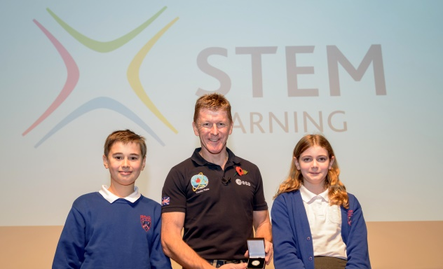 Tim Peake becomes first honorary STEM Ambassador