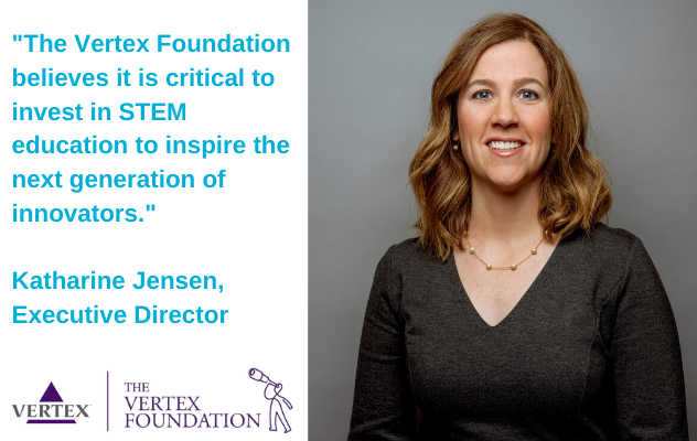 """The Vertex Foundation believes it is critical to invest in STEM education to inspire the next generation of innovators."""