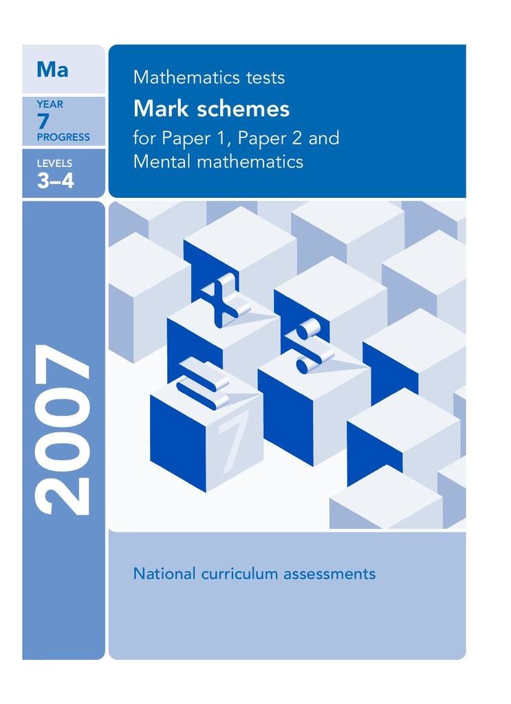 Mathematics Quality and Assessment Tests: Year 7 Progress Tests | STEM