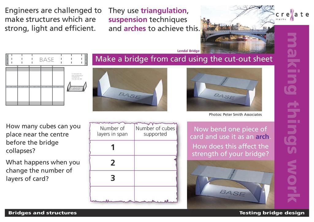 Bridges and Structures   STEM