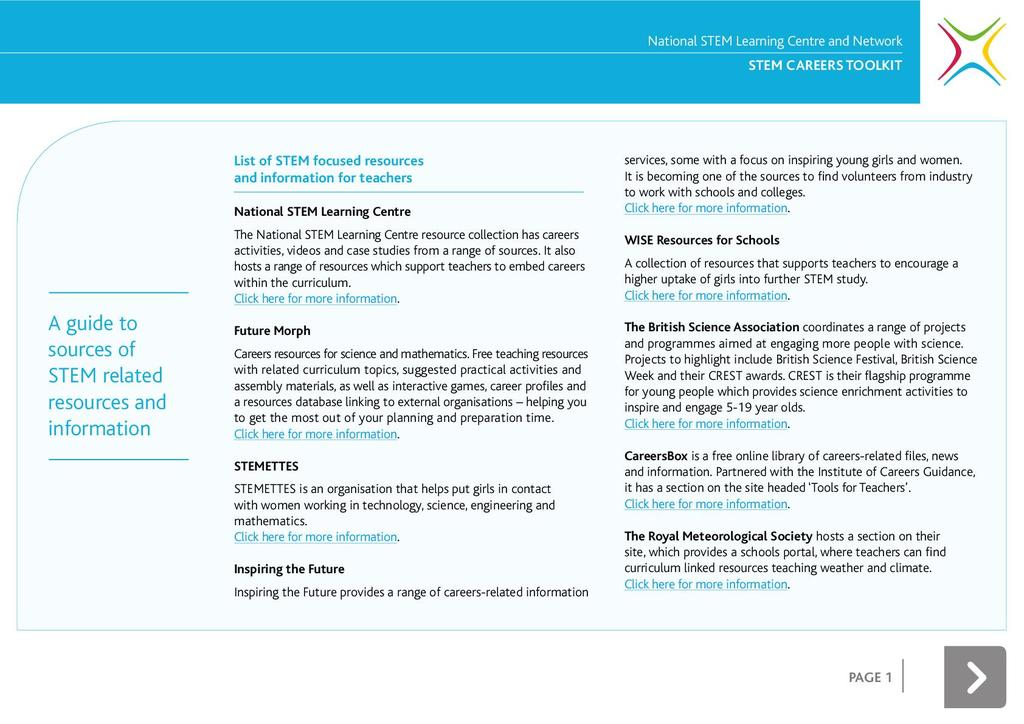 STEM careers toolkit: primary STEM careers toolkit | STEM