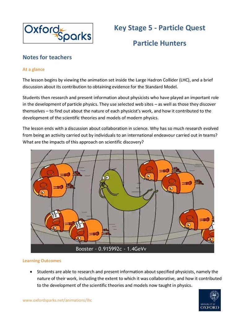 Hunting the Higgs | STEM