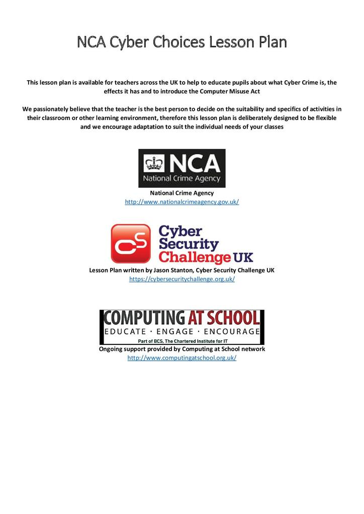 Computer Misuse Act and Cyber Crime | STEM