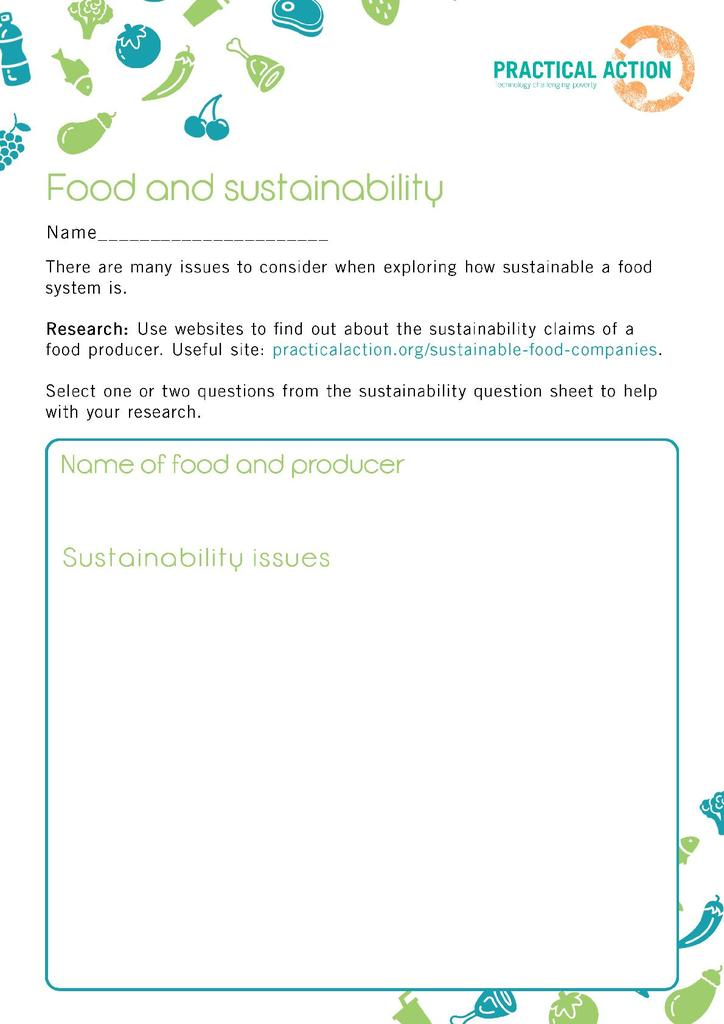 Food Security and Sustainability | STEM