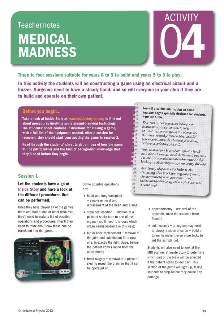 Medical madness | STEM