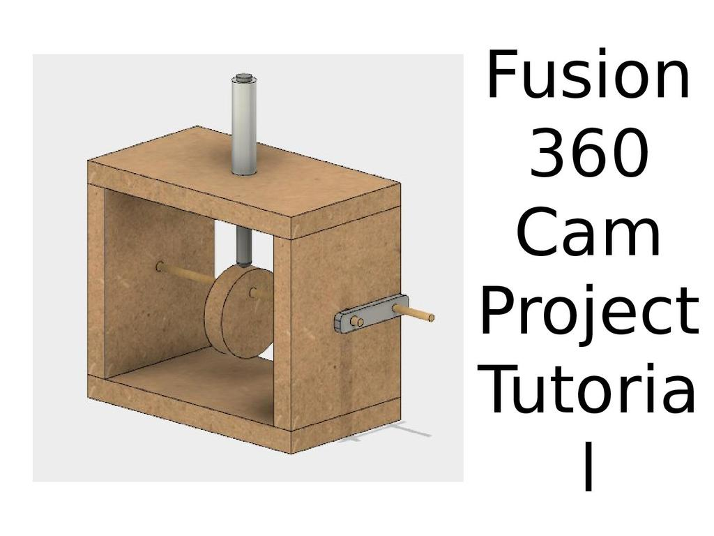 Fusion 360: Create your own moving cam tutorial | STEM