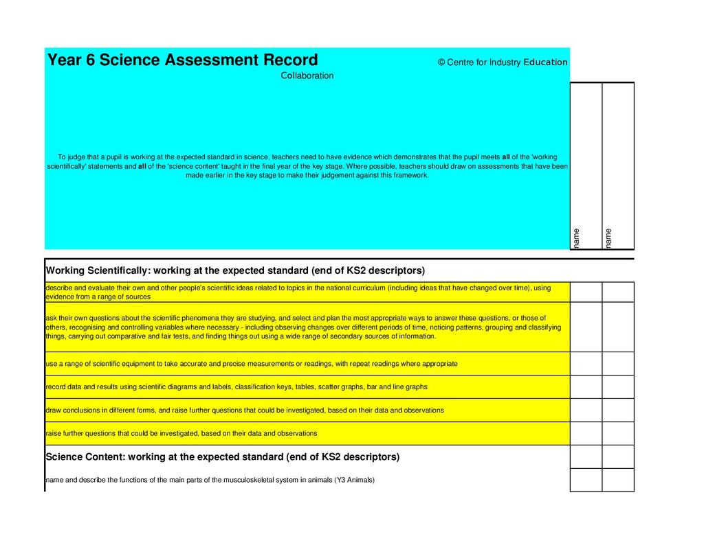 Enabling accurate teacher assessment in primary science | STEM