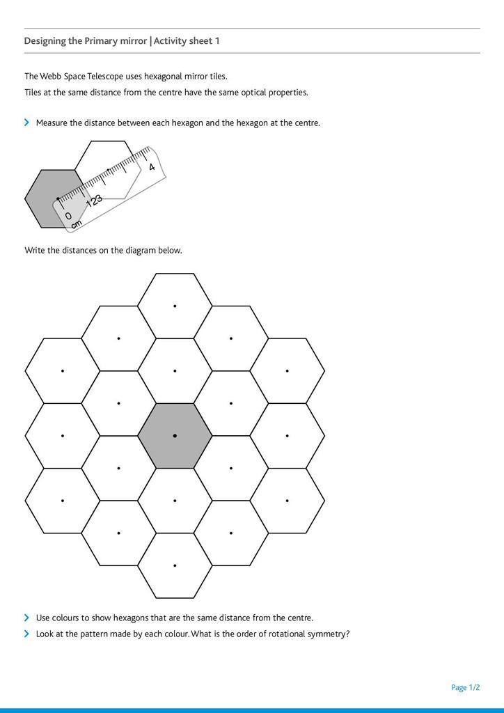 James Webb Space Telescope: Designing the Primary Mirror | STEM