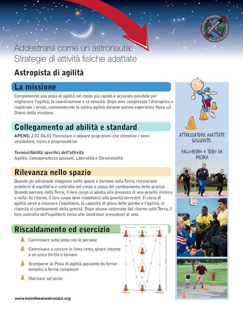 Agility Astro-Course (Italian)   STEM