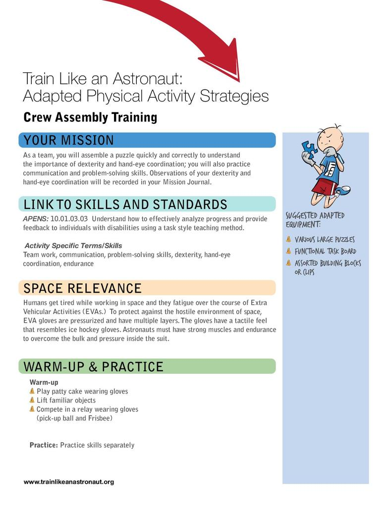 Crew Assembly (English) | STEM