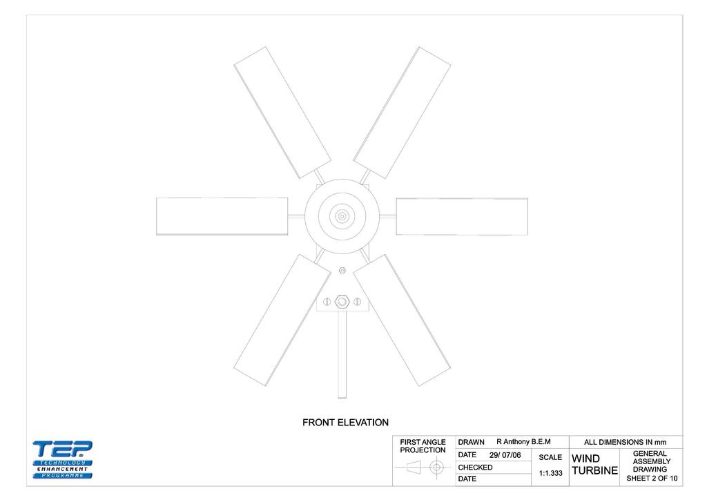 Peachy Wind Turbine Project Working Drawings Stem Wiring 101 Photwellnesstrialsorg