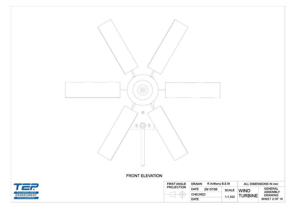 Tremendous Wind Turbine Project Working Drawings Stem Wiring Digital Resources Millslowmaporg