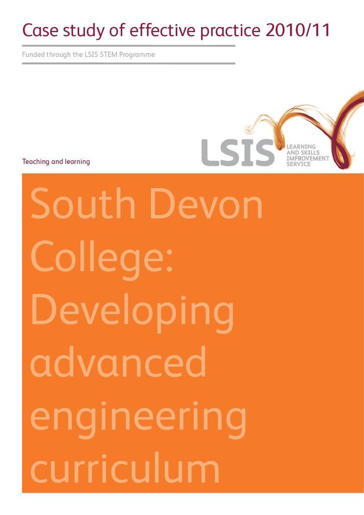 Developing an Advanced Engineering Curriculum | STEM