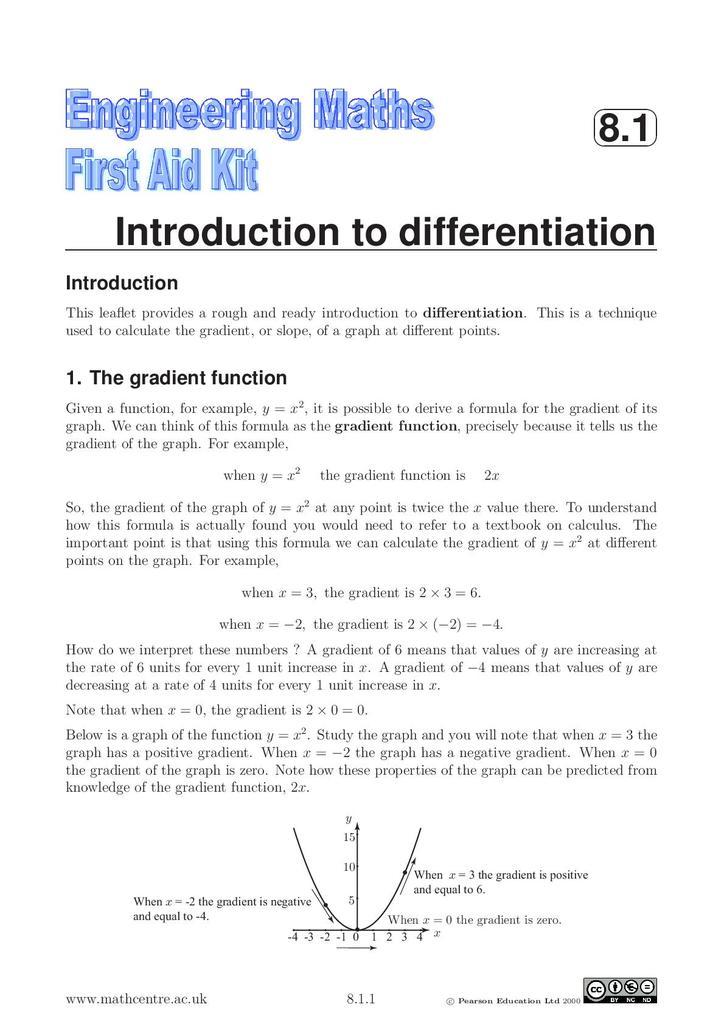 Differentiation Book Pdf