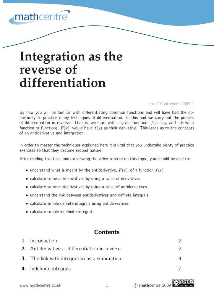 Integration   STEM