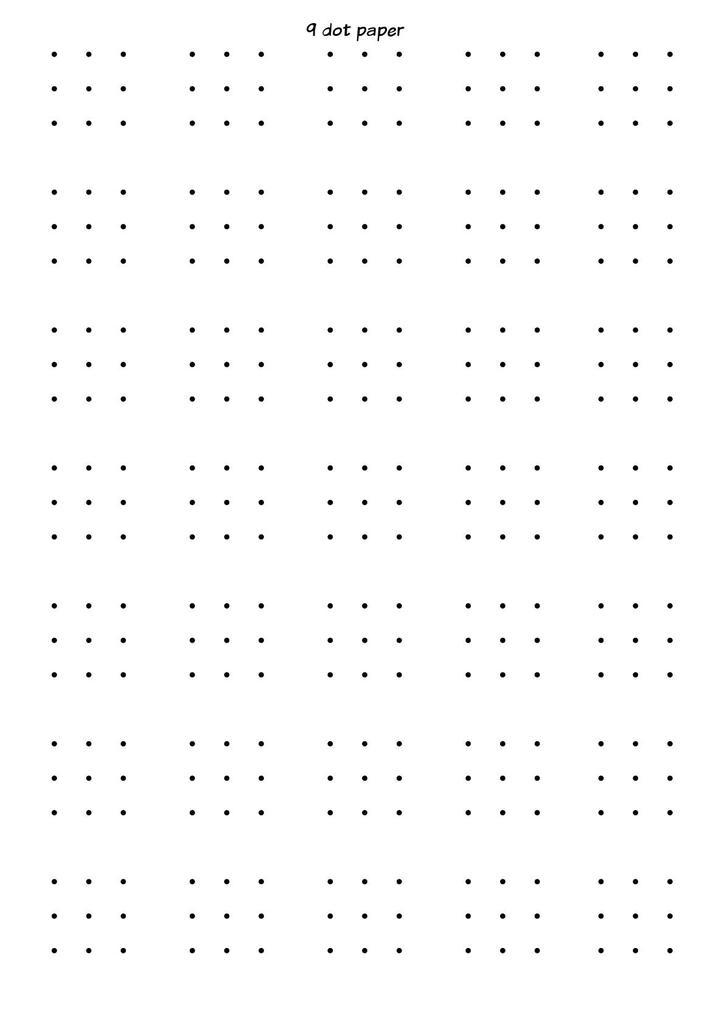 photograph regarding Dotty Paper Printable identified as Stationery STEM