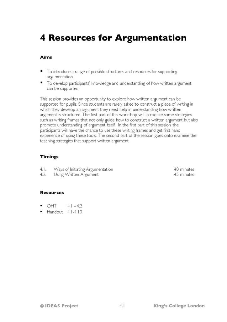 IDEAS In-Service Materials | STEM