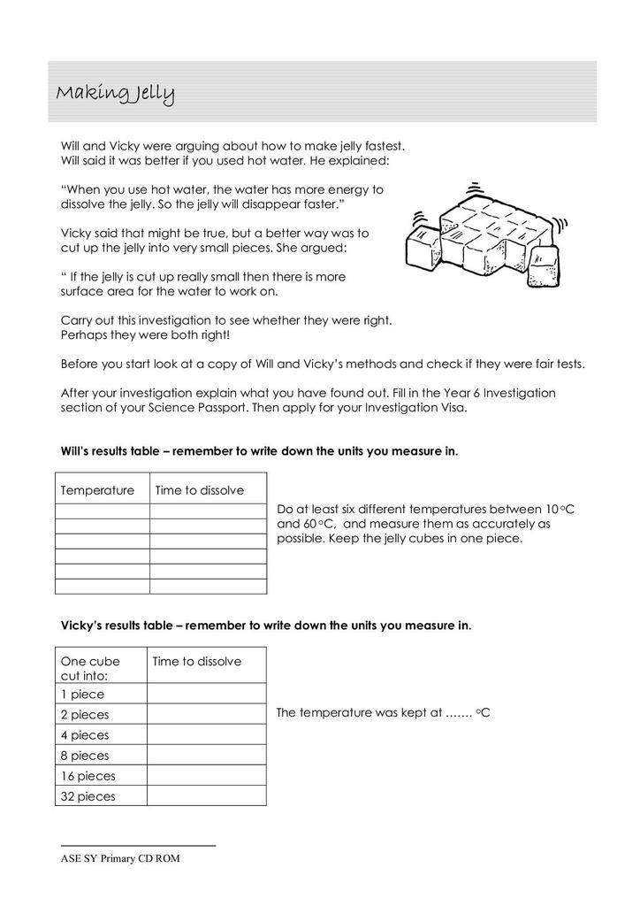 Solutions Activity Sheet 244 28 Kb