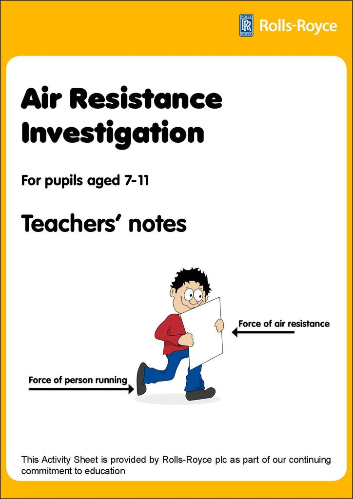 Forces and Air Resistance | STEM