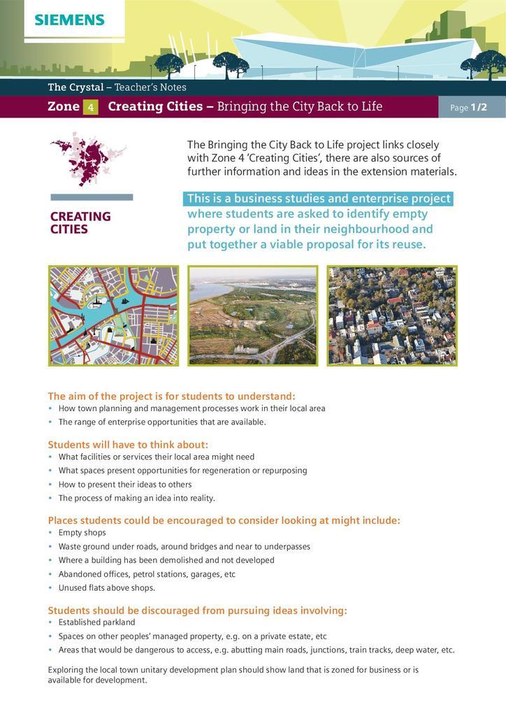 Zone 4: Creating Cities | STEM